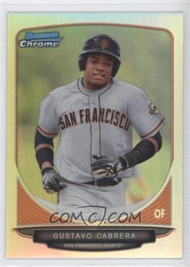 2013 Bowman Chrome Prospects Refractor #BCP136 - Gustavo Cabrera