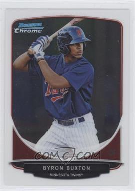 2013 Bowman Chrome Prospects #BCP1 - Byron Buxton