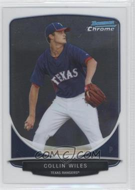 2013 Bowman Chrome Prospects #BCP12 - Collin Wiles