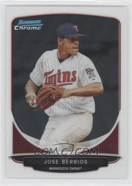 2013 Bowman Chrome Prospects #BCP191 - Jose Berrios