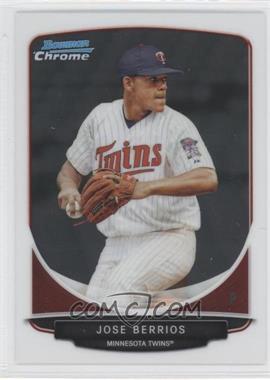 2013 Bowman Chrome Prospects #BCP191 - Jose Berrios