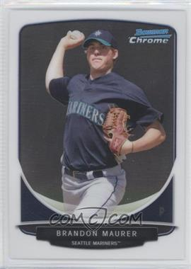 2013 Bowman Chrome Prospects #BCP22 - Brandon Maurer