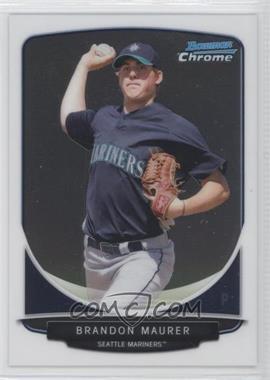 2013 Bowman Chrome Prospects #BCP22 - Brandon Maurer