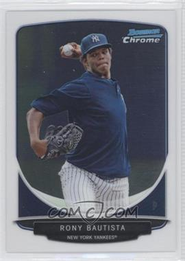 2013 Bowman Chrome Prospects #BCP90 - Rony Bautista