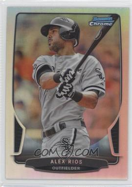 2013 Bowman Chrome Refractor #120 - Alex Rios