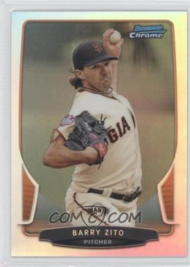 2013 Bowman Chrome Refractor #85 - Barry Zito