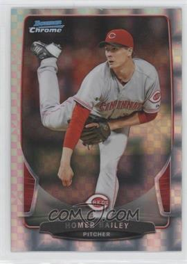 2013 Bowman Chrome Retail X-Fractor #84 - Homer Bailey