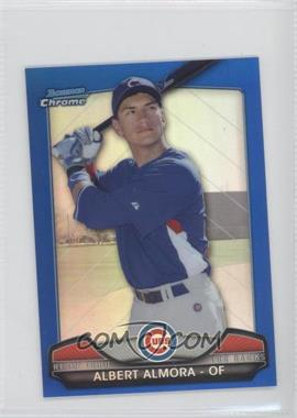2013 Bowman Chrome Risin' thru the Ranks Blue Refractor #RTR-AA - Albert Almora /250