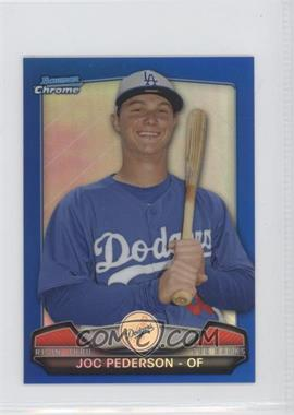 2013 Bowman Chrome Risin' thru the Ranks Blue Refractor #RTR-JP - Joc Pederson /250