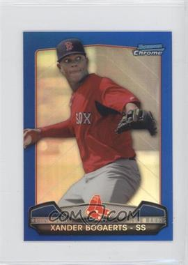2013 Bowman Chrome Risin' thru the Ranks Blue Refractor #RTR-XB - Xander Bogaerts /250
