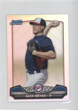 2013 Bowman Chrome Risin' thru the Ranks Refractor #RTR-AM - Alex Meyer
