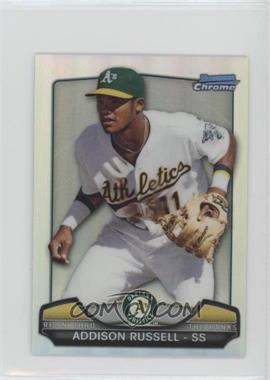 2013 Bowman Chrome Risin' thru the Ranks Refractor #RTR-AR - Addison Russell