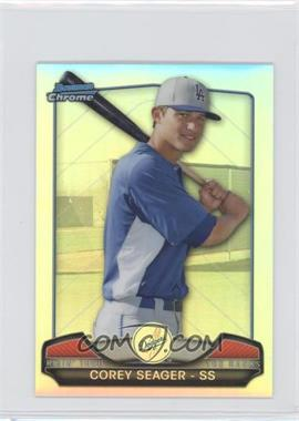 2013 Bowman Chrome Risin' thru the Ranks Refractor #RTR-CS - Corey Seager