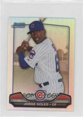 2013 Bowman Chrome Risin' thru the Ranks Refractor #RTR-JS - Jorge Soler