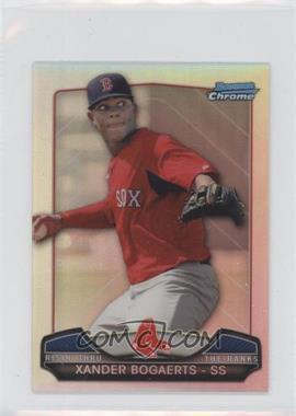 2013 Bowman Chrome Risin' thru the Ranks Refractor #RTR-XB - Xander Bogaerts