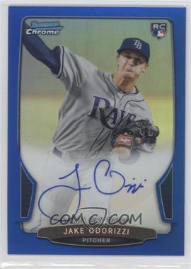 2013 Bowman Chrome Rookie Autographs Blue Refractor #ACR-JO - Jake Odorizzi /250