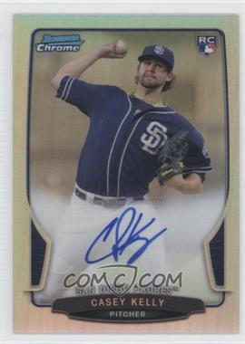 2013 Bowman Chrome Rookie Autographs Refractor #ACR-CK - Casey Kelly /500