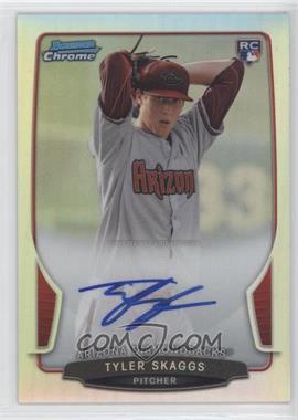 2013 Bowman Chrome Rookie Autographs Refractor #ACR-TS - Tyler Skaggs /500