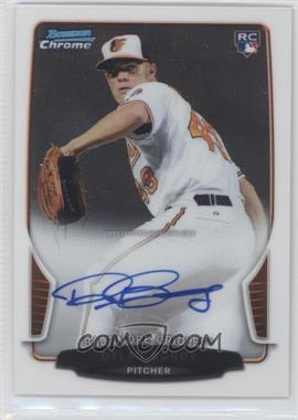 2013 Bowman Chrome Rookie Autographs #ACR-DB - Dylan Bundy
