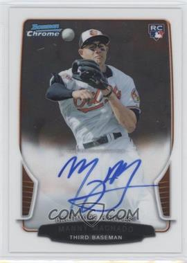 2013 Bowman Chrome Rookie Autographs #ACR-MM - Manny Machado