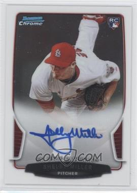 2013 Bowman Chrome Rookie Autographs #ACR-SM - Shelby Miller