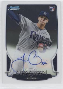 2013 Bowman Chrome Rookie Autographs #JO - Jake Odorizzi