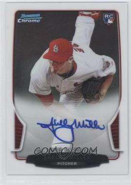 2013 Bowman Chrome Rookie Autographs #SM - Shelby Miller