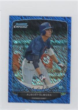 2013 Bowman Cream Of The Crop Chrome Mini Blue Wave Refractor #CC-CC3 - Albert Almora /250