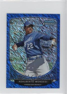 2013 Bowman Cream Of The Crop Chrome Mini Blue Wave Refractor #CC-KCR3 - Adalberto Mondesi /250