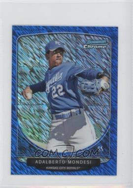 2013 Bowman Cream Of The Crop Chrome Mini Blue Wave Refractor #CC-KCR3 - Adam Moore /250