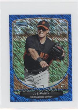 2013 Bowman Cream Of The Crop Chrome Mini Blue Wave Refractor #CC-SFG3 - Joe Panik /250
