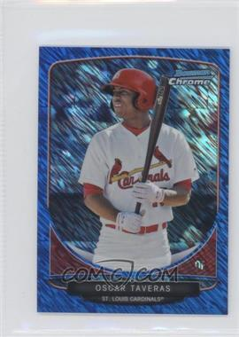 2013 Bowman Cream Of The Crop Chrome Mini Blue Wave Refractor #CC-STL1 - Oscar Taveras /250