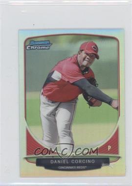 2013 Bowman Cream Of The Crop Chrome Mini Refractor #CC-4 - Daniel Corcino