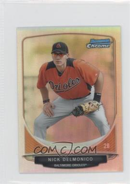 2013 Bowman Cream Of The Crop Chrome Mini Refractor #CC-B05 - Nick Delmonico