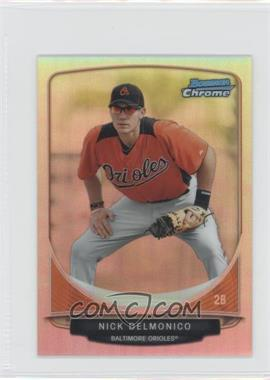 2013 Bowman Cream Of The Crop Chrome Mini Refractor #CC-BO5 - Nick Delmonico