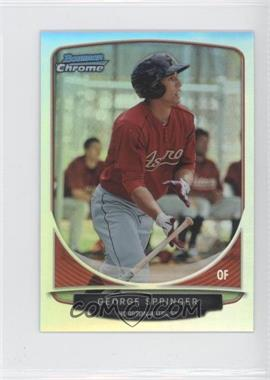 2013 Bowman Cream Of The Crop Chrome Mini Refractor #CC-HA3 - George Springer