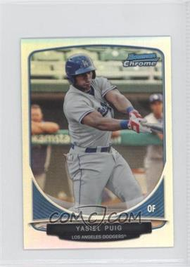 2013 Bowman Cream Of The Crop Chrome Mini Refractor #CC-LAD3 - Yasiel Puig