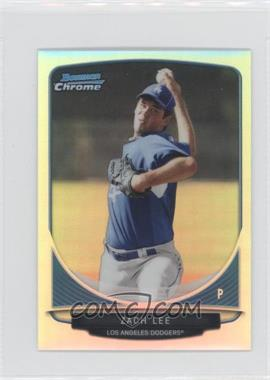 2013 Bowman Cream Of The Crop Chrome Mini Refractor #CC-LAD5 - Zach Lee