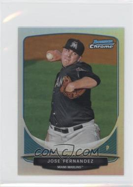 2013 Bowman Cream Of The Crop Chrome Mini Refractor #CC-MM1 - Jose Fernandez