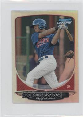 2013 Bowman Cream Of The Crop Chrome Mini Refractor #CC-MT2 - Byron Buxton