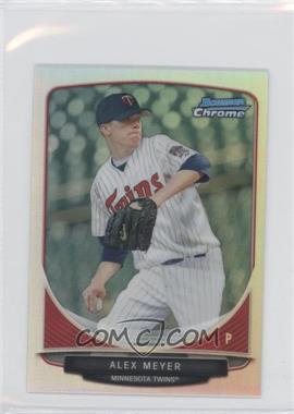 2013 Bowman Cream Of The Crop Chrome Mini Refractor #CC-MT4 - Alex Meyer