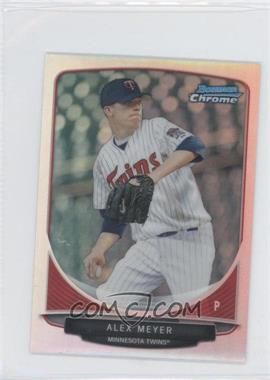 2013 Bowman Cream Of The Crop Chrome Mini Refractor #CC-MT4 - Alex Meyer