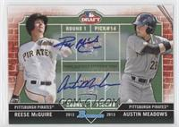 Reese McGuire, Austin Meadows /25