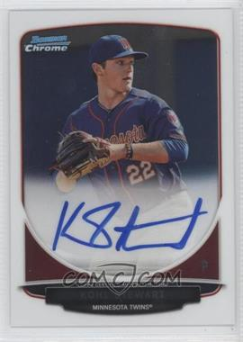 2013 Bowman Draft Picks & Prospects Chrome Draft Picks Certified Autographs [Autographed] #BCA-KS - Kohl Stewart