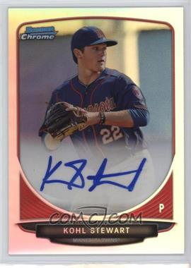 2013 Bowman Draft Picks & Prospects Chrome Prospect Autographs Refractor #BCA-KS - Kohl Stewart