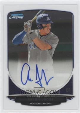 2013 Bowman Draft Picks & Prospects Chrome Prospect Autographs #BCA-AJ - Aaron Judge