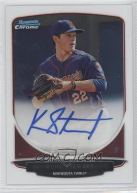 2013 Bowman Draft Picks & Prospects Chrome Prospect Autographs #BCA-KS - Kohl Stewart