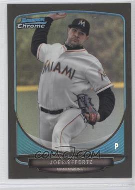 2013 Bowman Draft Picks & Prospects Draft Picks Chrome Black Refractor #BDPP126 - Joel Effertz /35
