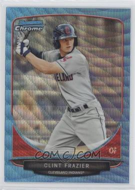 2013 Bowman Draft Picks & Prospects Draft Picks Chrome Blue Wave Refractor #BDPP15 - Clint Frazier