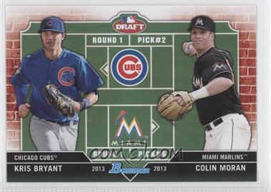 2013 Bowman Draft Picks & Prospects Dual Draftee #DD-BM - Kris Bryant, Colin Moran